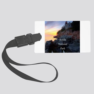Acadia National Park Large Luggage Tag