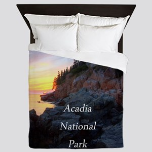 Acadia National Park Queen Duvet
