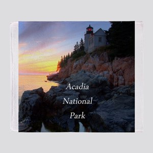 Acadia National Park Throw Blanket