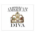 AMERICAN DIVA Small Poster