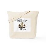 AMERICAN DIVA Tote Bag