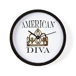 AMERICAN DIVA Wall Clock