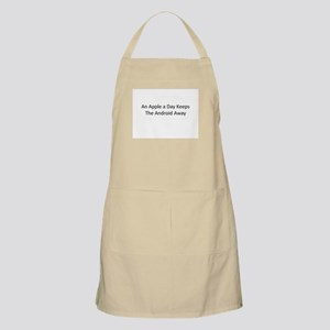 An Apple a Day Keeps the Android Away Apron