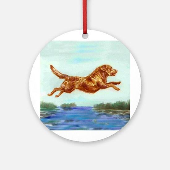 Chesapeake Bay Retriever Ornament (Round)