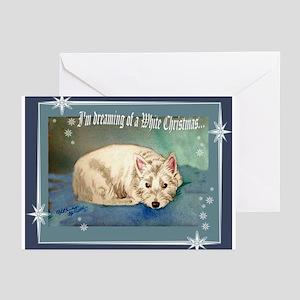 West Highland White Christmas Cards (Pk of 10)