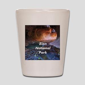 Zion National Park Shot Glass