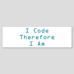 I Code Bumper Sticker