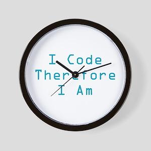 I Code Wall Clock
