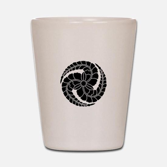 kuroda wisteria Shot Glass