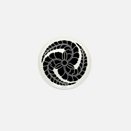 kuroda wisteria Mini Button