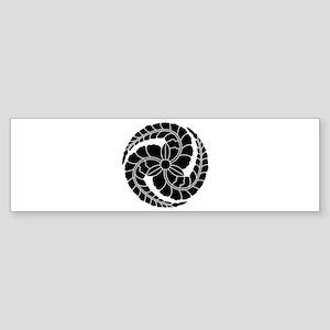 kuroda wisteria Sticker (Bumper)