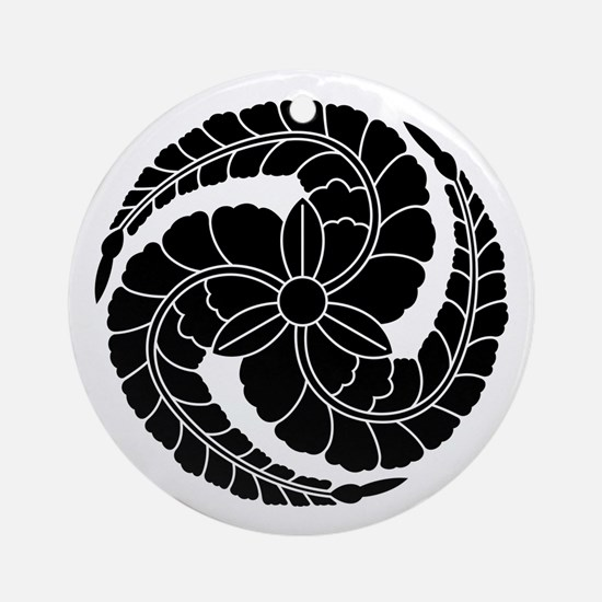 kuroda wisteria Ornament (Round)