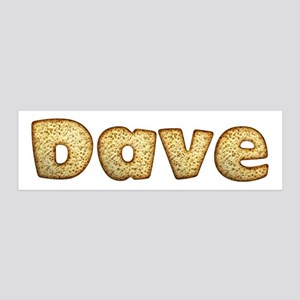 Dave Toasted 36x11 Wall Peel