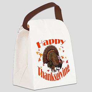 happy tg Canvas Lunch Bag