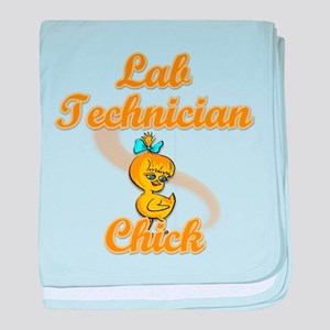 Lab Technician Chick #2 baby blanket