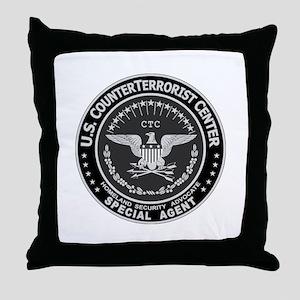 CTC CounterTerrorist Center  Throw Pillow