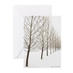 Trees - Happy Holidays! -Greeting Cards (Pk of 20)