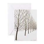 Trees - Happy Holidays! -Greeting Cards (Pk of 10)