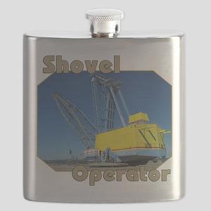 Shovel Operators Flask