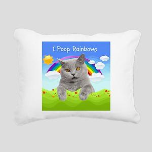showercurtain21 Rectangular Canvas Pillow