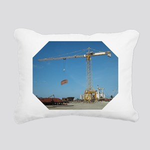 Crane operators Rectangular Canvas Pillow