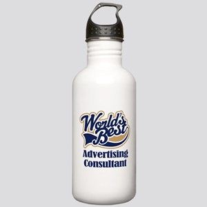 Advertising Consultant (Worlds Best) Stainless Wat