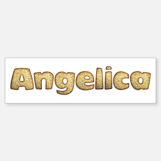 Angelica Toasted Bumper Bumper Bumper Sticker
