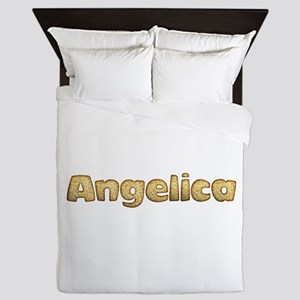 Angelica Toasted Queen Duvet