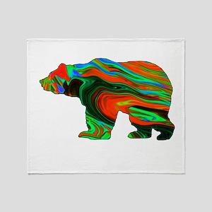 Spirit Bear Throw Blanket