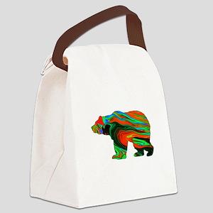 Spirit Bear Canvas Lunch Bag