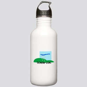 Screw Coal Stainless Water Bottle 1.0L