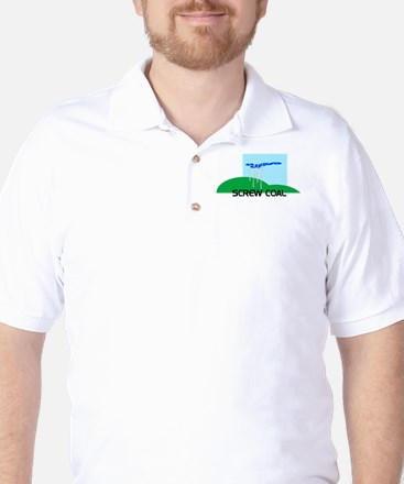 Screw Coal Golf Shirt