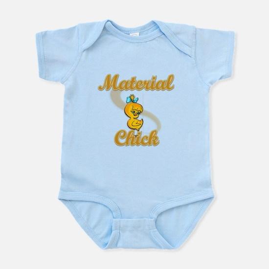 Material Chick #2 Infant Bodysuit