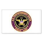 CounterTerrorist Center CTC Rectangle Sticker