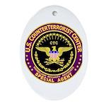 CounterTerrorist Center CTC Oval Ornament