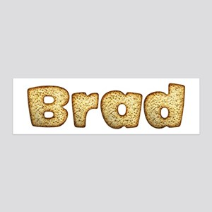 Brad Toasted 36x11 Wall Peel