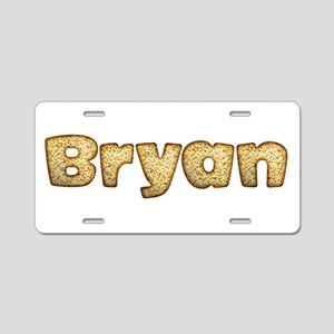 Bryan Toasted Aluminum License Plate
