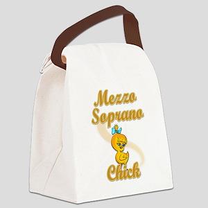 Mezzo Soprano Chick #2 Canvas Lunch Bag