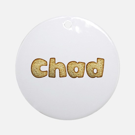 Chad Toasted Round Ornament