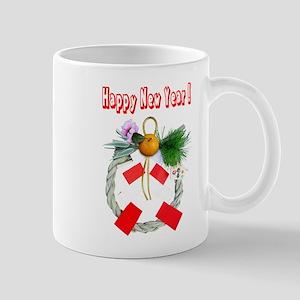 Wreath of Japan of the new year Mug