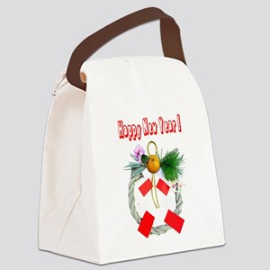 Wreath of Japan of the new year Canvas Lunch Bag