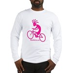 Kokopelli Mountain Biker Long Sleeve T-Shirt
