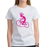 Kokopelli Mountain Biker Women's T-Shirt