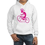 Kokopelli Mountain Biker Hooded Sweatshirt