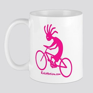 Kokopelli Mountain Biker Mug