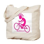 Kokopelli Mountain Biker Tote Bag