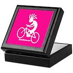 Kokopelli Mountain Biker Keepsake Box