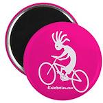 Kokopelli Mountain Biker Magnet