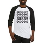numbers game 1 Baseball Jersey