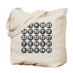 numbers game 1 Tote Bag